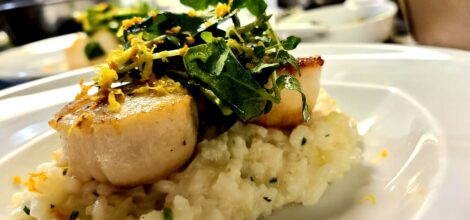 Sea Scallop and risotto
